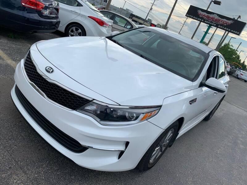 2016 Kia Optima for sale at Washington Auto Group in Waukegan IL