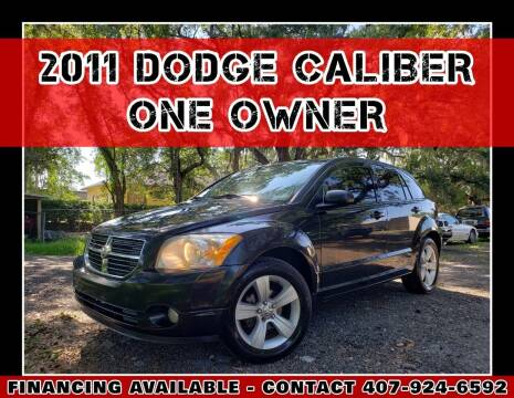 2011 Dodge Caliber for sale at AFFORDABLE ONE LLC in Orlando FL