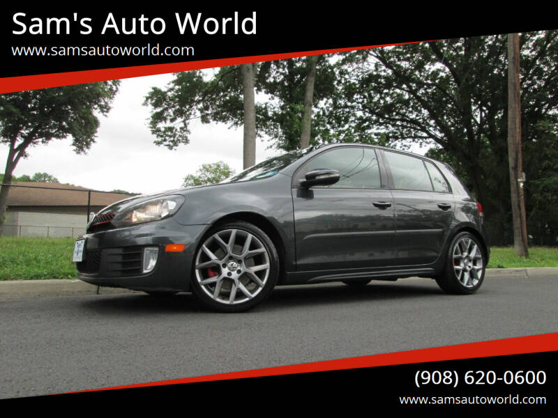 2013 Volkswagen GTI for sale at Sam's Auto World in Roselle NJ