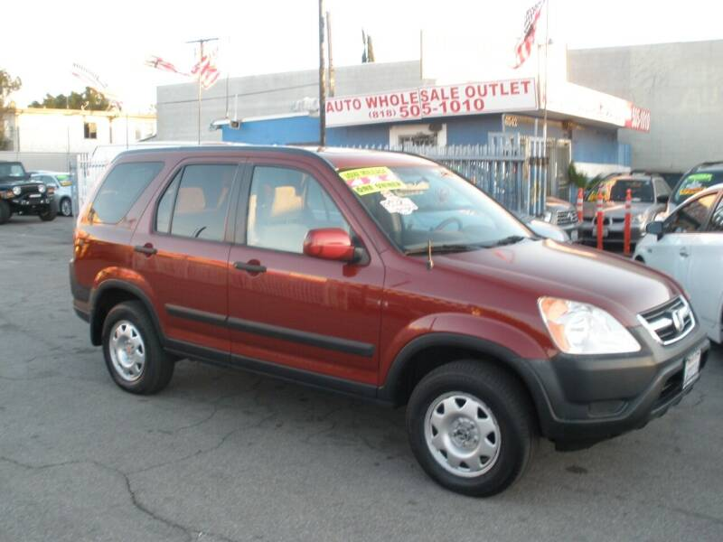 2002 Honda CR-V for sale at AUTO WHOLESALE OUTLET in North Hollywood CA
