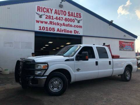 2012 Ford F-350 Super Duty for sale at Ricky Auto Sales in Houston TX