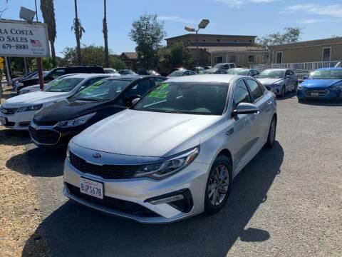 2019 Kia Optima for sale at Contra Costa Auto Sales in Oakley CA