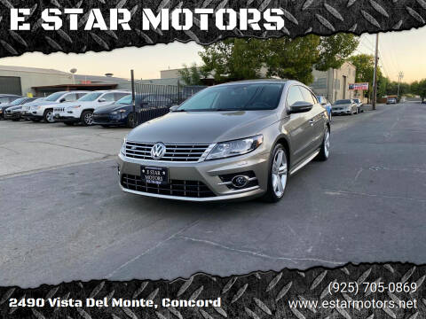 2014 Volkswagen CC for sale at E STAR MOTORS in Concord CA
