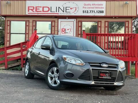 2013 Ford Focus for sale at REDLINE AUTO SALES LLC in Cedar Creek TX