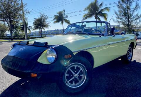 1976 MG MGB for sale at Maxicars Auto Sales in West Park FL