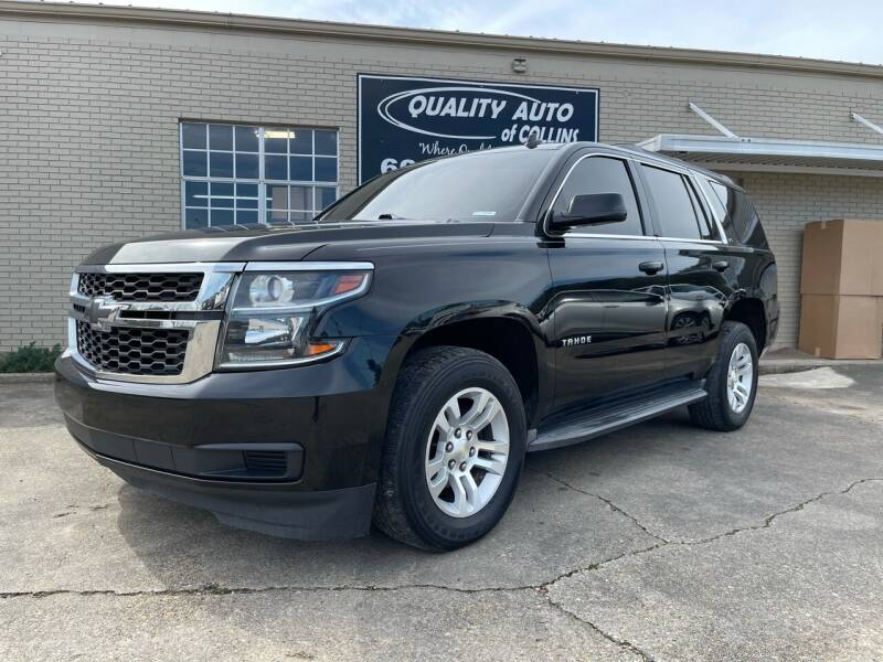2015 Chevrolet Tahoe for sale at Quality Auto of Collins in Collins MS