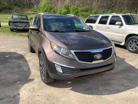 2012 Kia Sportage for sale at Court House Cars, LLC in Chillicothe OH