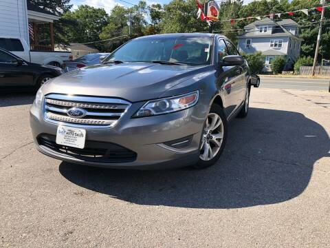 2012 Ford Taurus for sale at Easy Autoworks & Sales in Whitman MA