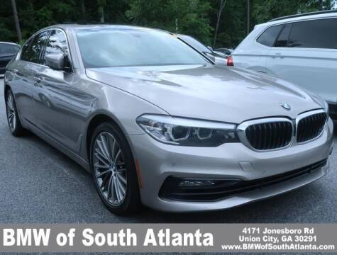 2017 BMW 5 Series for sale at Carol Benner @ BMW of South Atlanta in Union City GA