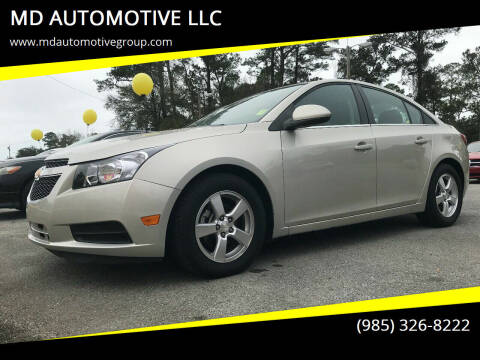 2014 Chevrolet Cruze for sale at MD AUTOMOTIVE LLC in Slidell LA