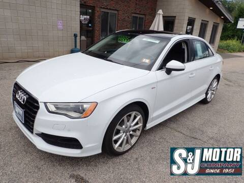 2016 Audi A3 for sale at S & J Motor Co Inc. in Merrimack NH