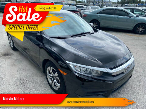 2017 Honda Civic for sale at Marvin Motors in Kissimmee FL