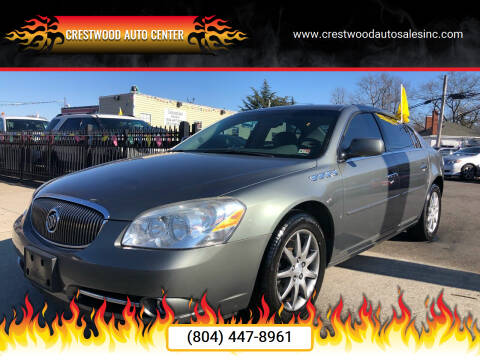 2008 Buick Lucerne for sale at Crestwood Auto Center in Richmond VA