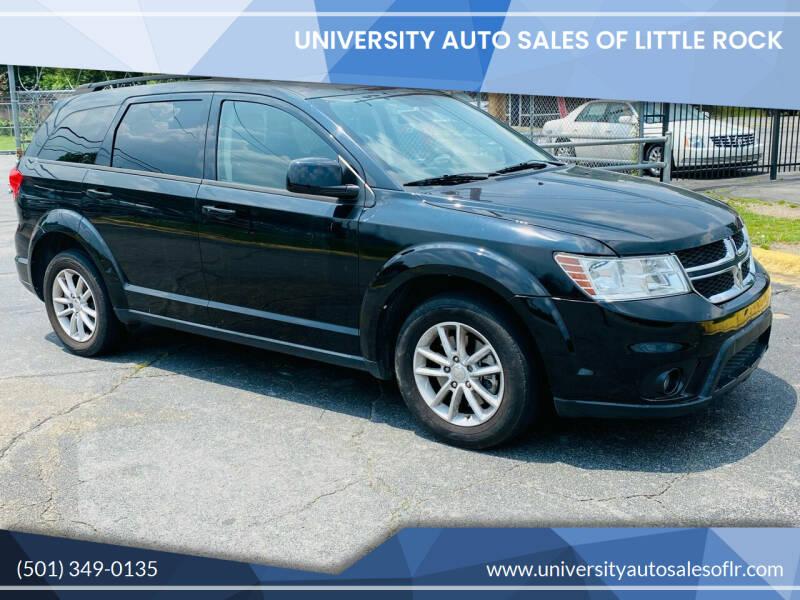 2015 Dodge Journey for sale at University Auto Sales of Little Rock in Little Rock AR