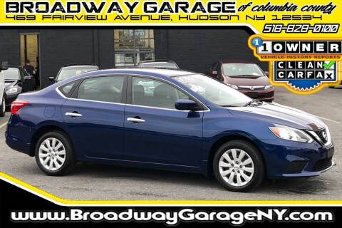 2016 Nissan Sentra for sale at Broadway Garage of Columbia County Inc. in Hudson NY