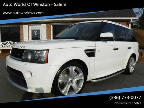 2011 Land Rover Range Rover Sport for sale at Auto World Of Winston - Salem in Winston Salem NC