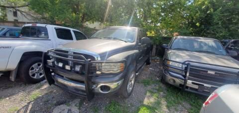 2002 Dodge Ram Pickup 1500 for sale at C.J. AUTO SALES llc. in San Antonio TX