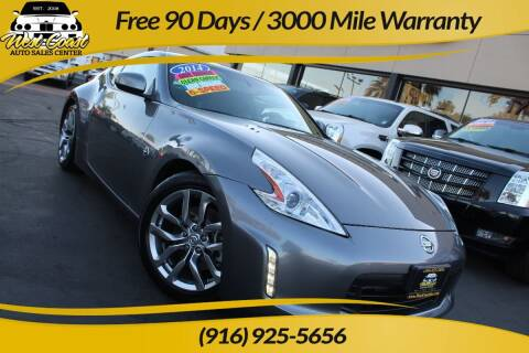 2014 Nissan 370Z for sale at West Coast Auto Sales Center in Sacramento CA