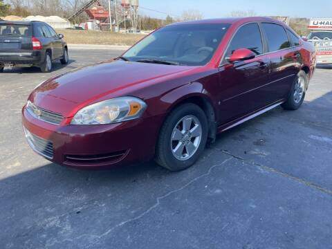 2009 Chevrolet Impala for sale at EAGLE ROCK AUTO SALES in Eagle Rock MO