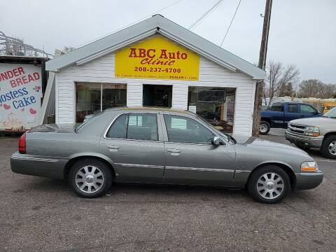 2004 Mercury Grand Marquis for sale at ABC AUTO CLINIC - Chubbuck in Chubbuck ID
