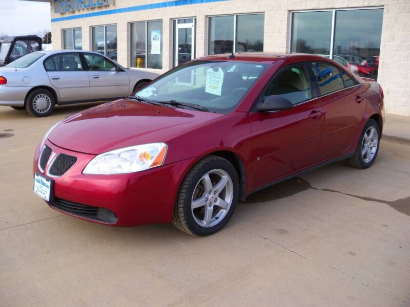 2008 Pontiac G6 for sale at Tyndall Motors in Tyndall SD