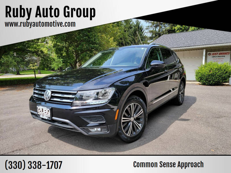 2018 Volkswagen Tiguan for sale at Ruby Auto Group in Hudson OH