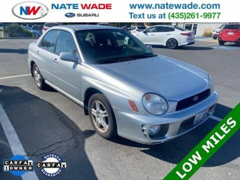 2002 Subaru Impreza for sale at NATE WADE SUBARU in Salt Lake City UT