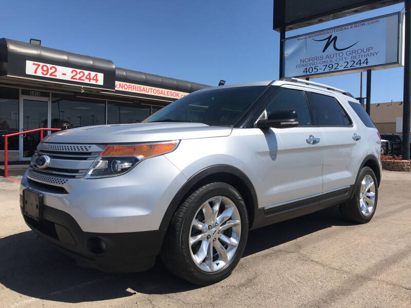 2015 Ford Explorer for sale at NORRIS AUTO SALES in Oklahoma City OK