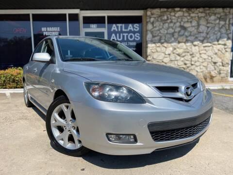 2008 Mazda MAZDA3 for sale at ATLAS AUTOS in Marietta GA