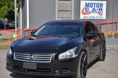 2014 Nissan Maxima for sale at Motor Car Concepts II - Colonial Location in Orlando FL