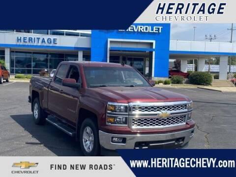 2015 Chevrolet Silverado 1500 for sale at HERITAGE CHEVROLET INC in Creek MI