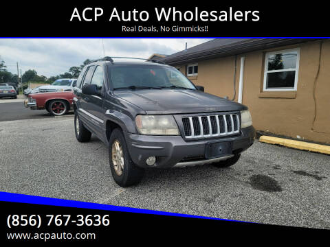 2004 Jeep Grand Cherokee for sale at ACP Auto Wholesalers in Berlin NJ