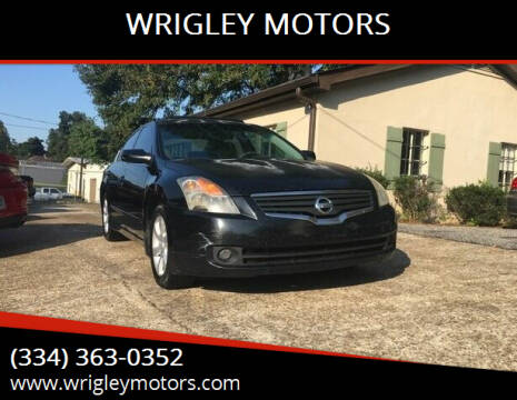 2007 Nissan Altima for sale at WRIGLEY MOTORS in Opelika AL