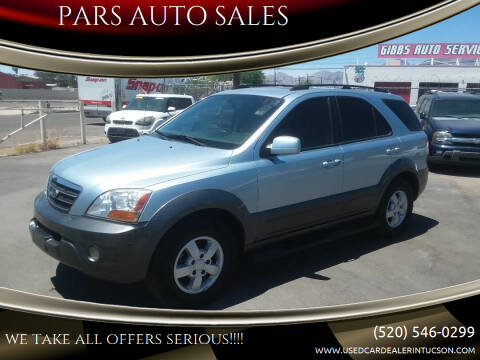 2008 Kia Sorento for sale at PARS AUTO SALES in Tucson AZ
