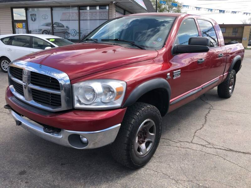2007 Dodge Ram Pickup 2500 for sale at TOP YIN MOTORS in Mount Prospect IL