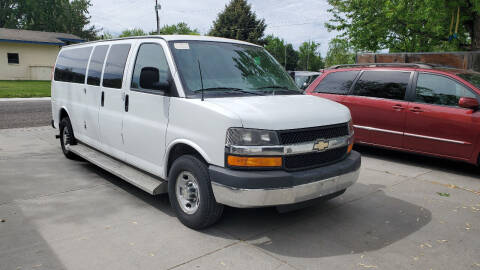 2013 Chevrolet Express Passenger for sale at West Richland Car Sales in West Richland WA