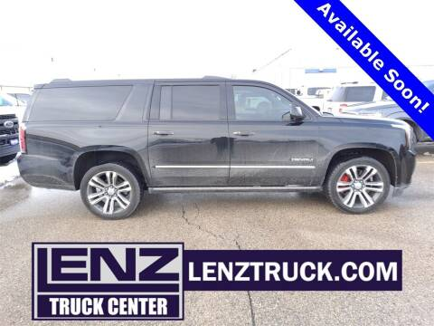 2018 GMC Yukon XL for sale at LENZ TRUCK CENTER in Fond Du Lac WI