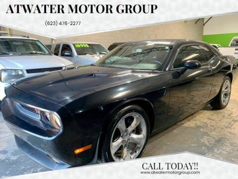 2013 Dodge Challenger for sale at Atwater Motor Group in Phoenix AZ