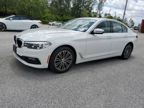 2018 BMW 5 Series for sale at Classic Cars of Palm Beach in Jupiter FL
