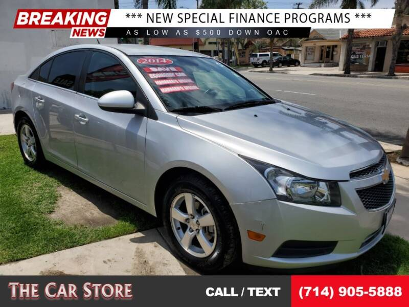 2014 Chevrolet Cruze for sale at The Car Store in Santa Ana CA