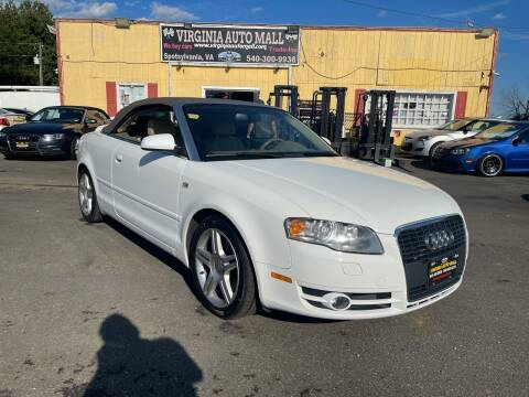 2007 Audi A4 for sale at Virginia Auto Mall in Woodford VA