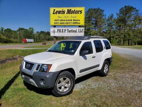 2013 Nissan Xterra for sale at Lewis Motors LLC in Deridder LA