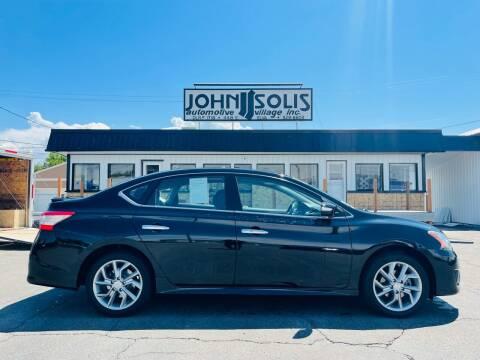 2015 Nissan Sentra for sale at John Solis Automotive Village in Idaho Falls ID