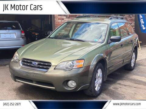 2005 Subaru Outback for sale at JK Motor Cars in Pittsburgh PA