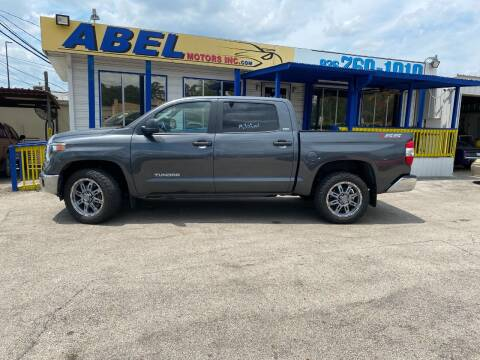 2018 Toyota Tundra for sale at Abel Motors, Inc. in Conroe TX