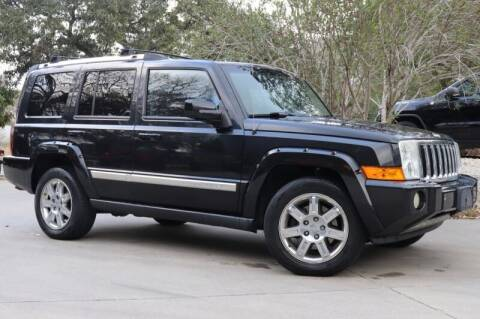 2010 Jeep Commander for sale at SELECT JEEPS INC in League City TX