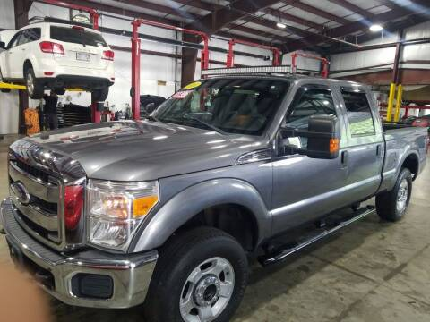 2011 Ford F-250 Super Duty for sale at Hometown Automotive Service & Sales in Holliston MA
