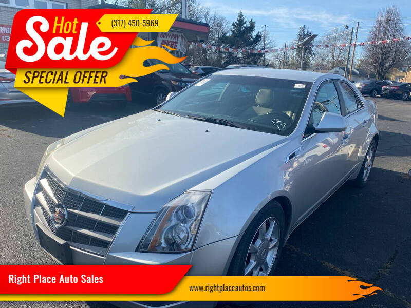 2009 Cadillac CTS for sale at Right Place Auto Sales in Indianapolis IN