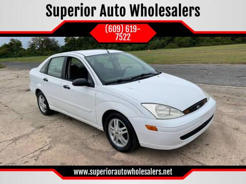 2000 Ford Focus for sale at Superior Auto Wholesalers in Burlington NJ