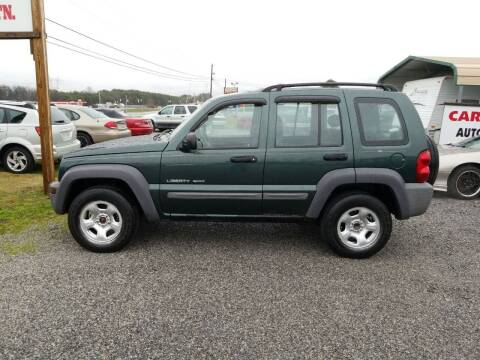 2003 Jeep Liberty for sale at CAR-MART AUTO SALES in Maryville TN